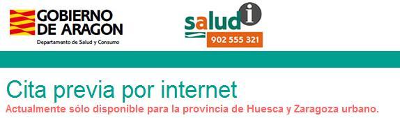 salud informa aragon citas online